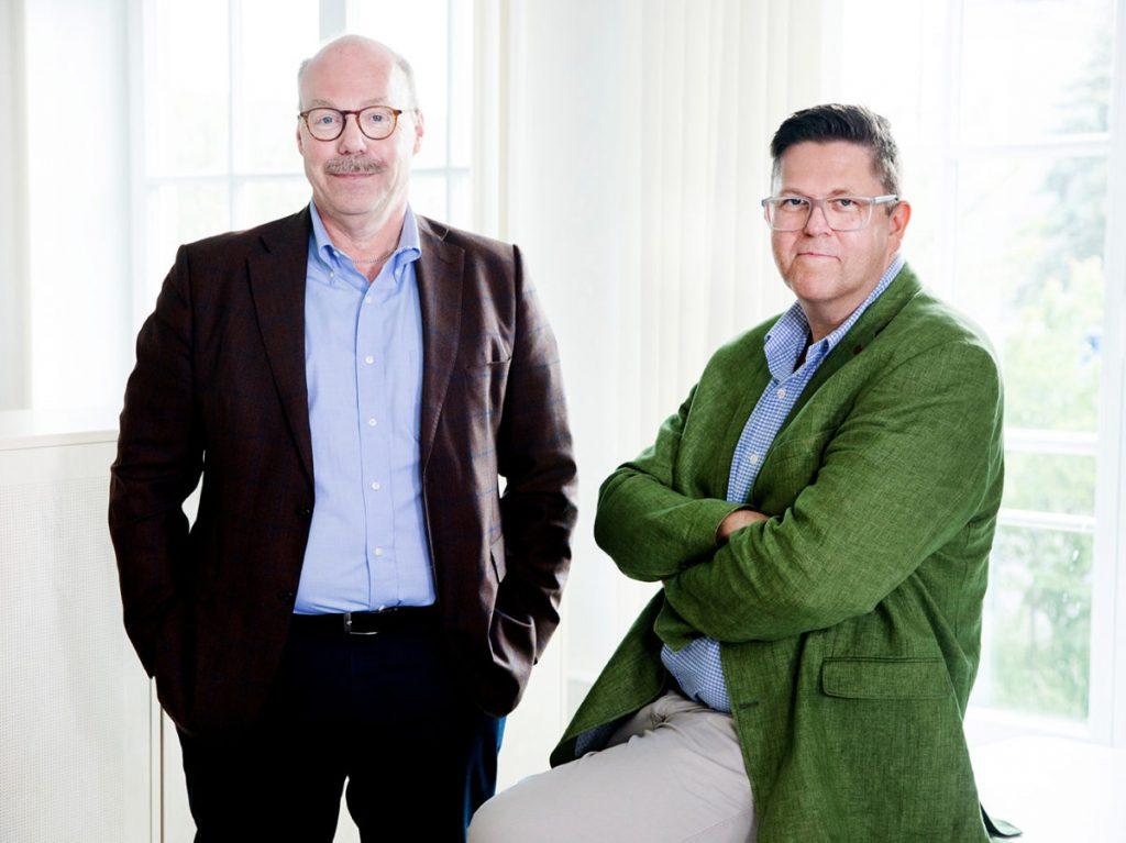 Vorstand der nicos AG: Axel Metzger und Thomas Brosch